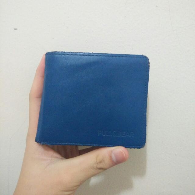 PULL N BEAR WALLET IN BLUE - ORIGINAL