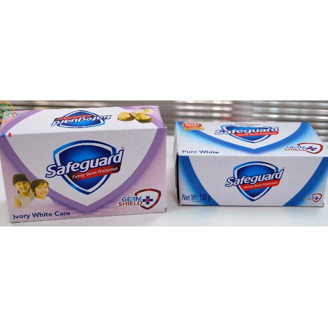 SAFEGUARD SOAP IVORY WHITE 135G FREE DELIVERY