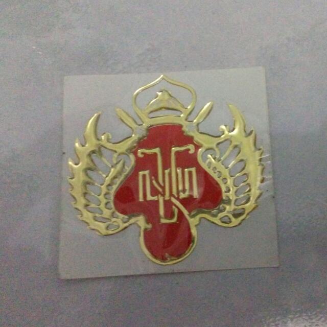 Stiker Timbul Logo Jogja