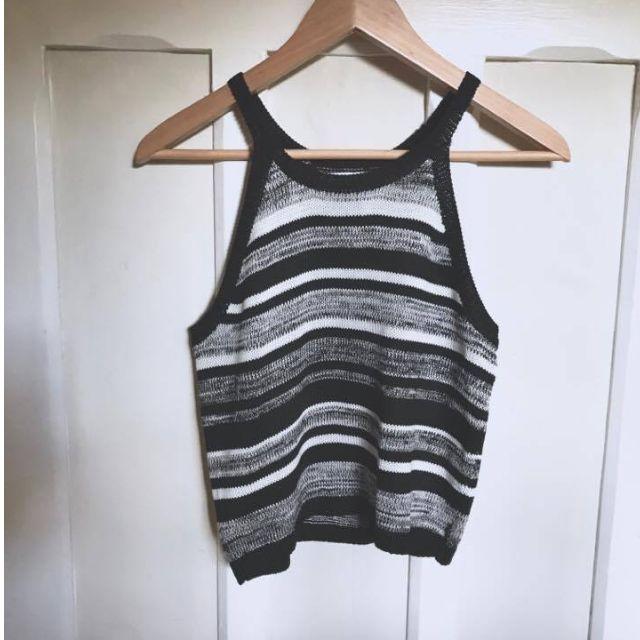 Supre Lucy Cutaway Knit Crop