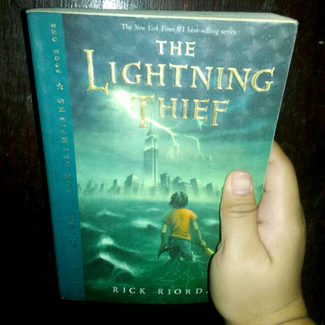 Percy Jackson: The Lightning Thief Trade Paper Back by: Rick Riordan