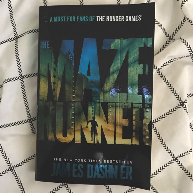 THE MAZE RUNNER FIRST NOVEL