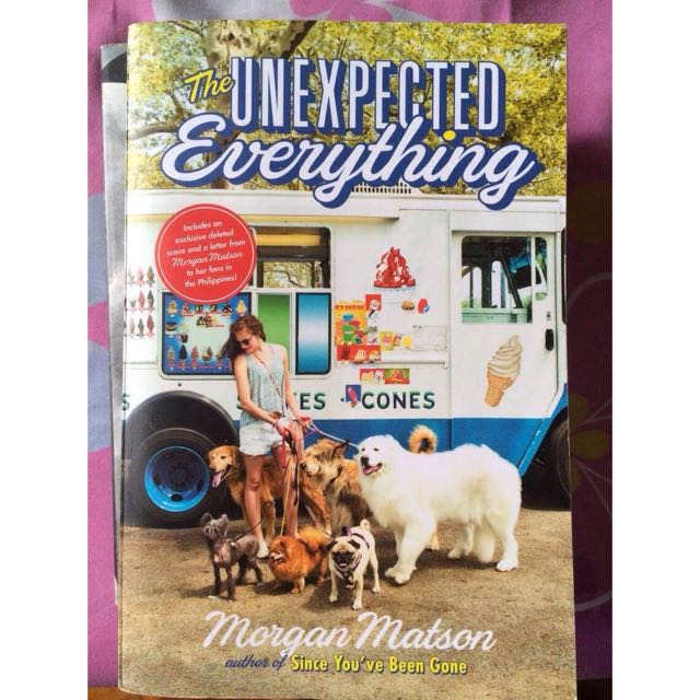 The Unexpected Everything By Morgan Matson Repriced!!