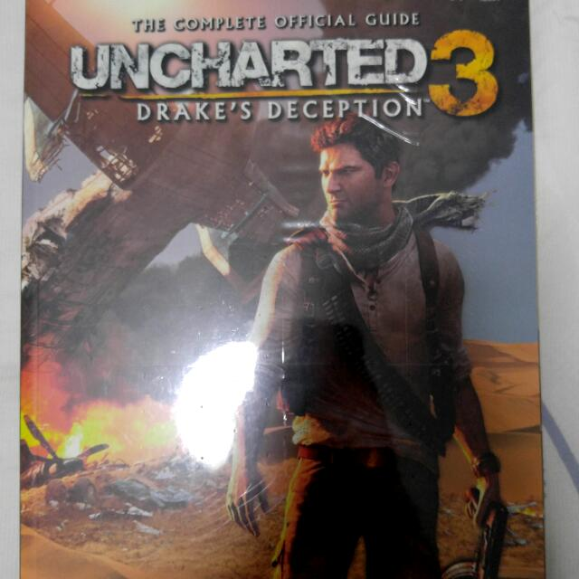 Uncharted 3 Drake S Deception Guidebook Toys Games Video