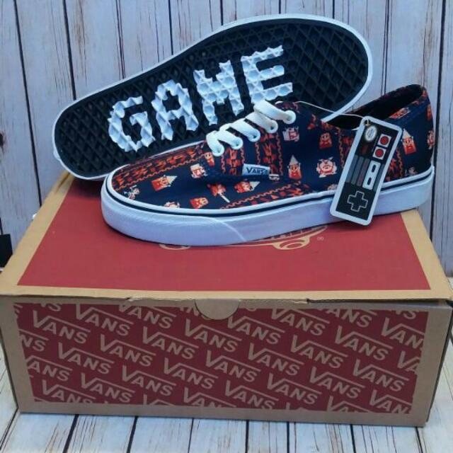 vans authentic game over