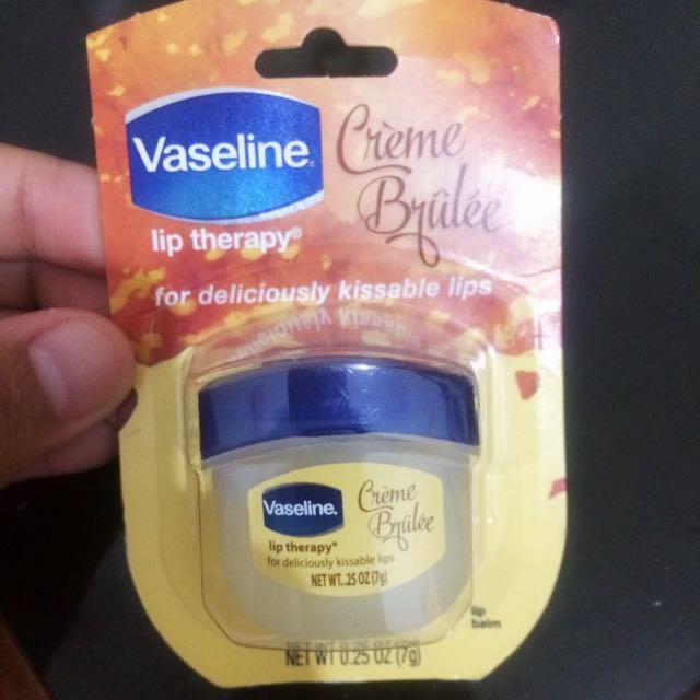 [REPRICE]Vaseline Lip Therapy Creme Brulee