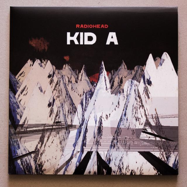 Vinyl: Radiohead - Kid A vinyl album