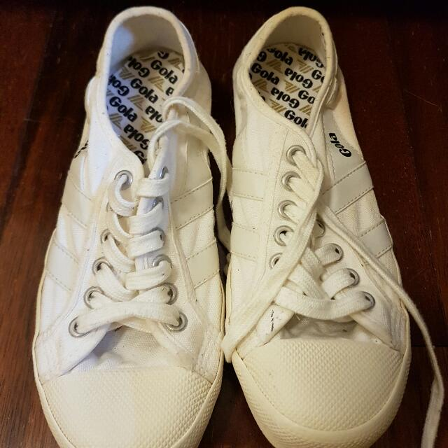 White Gola Tennis Shoes