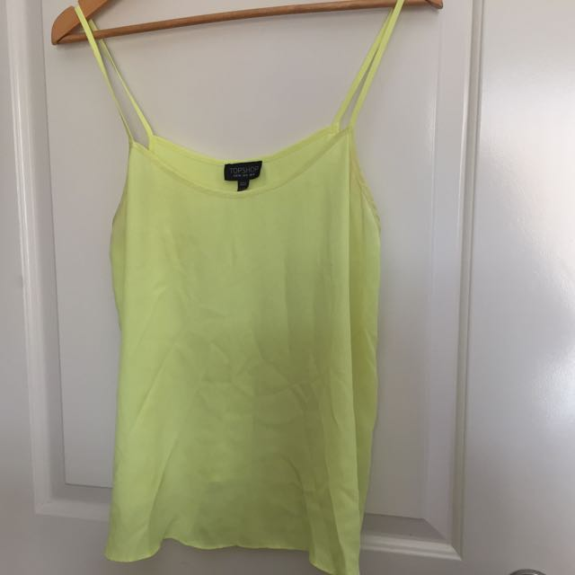 Yellow Top shop Top