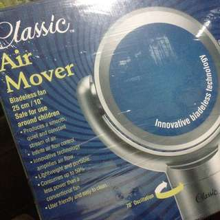 Air Mover (bladeless electric fan)