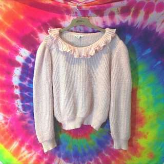 Cute Pastel Pink Sweater