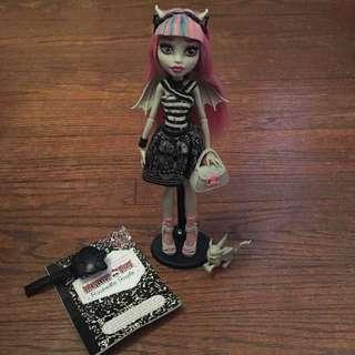 Rare Rochelle Goyle Monster High Doll
