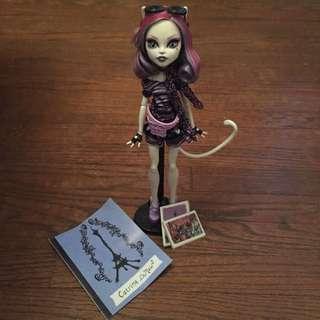 Rare Catrine DeMew Monster High Doll
