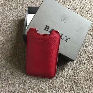 Bally Card And Phone Holder