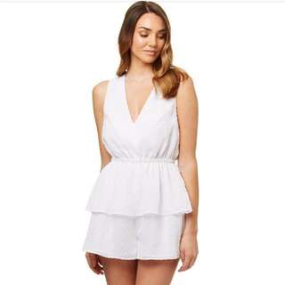 Kookai White Playsuit