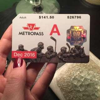 RESERVED - TTC Adult Metropass