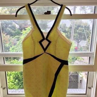 Yellow Seduce Dress