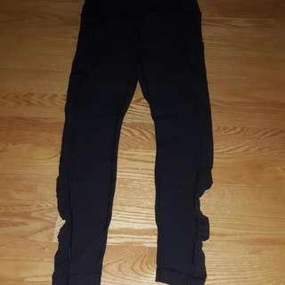 Size 6 Lululemon Black Tights