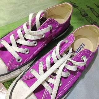 Converse (Hot Pink / Purple Cactus Flower