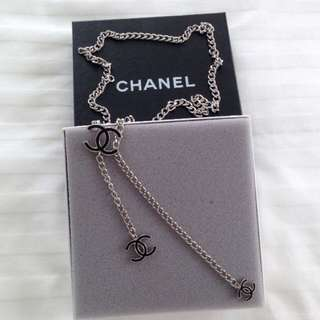 SOLD Like New Auth Chanel Belt / Necklace