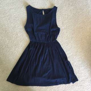 Navy Blue Dress Size 8/10
