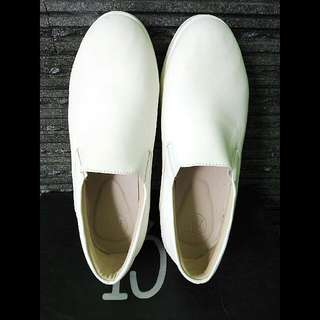 13th Shoes White Slip On