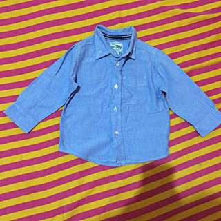 Place denim Polo For Kids
