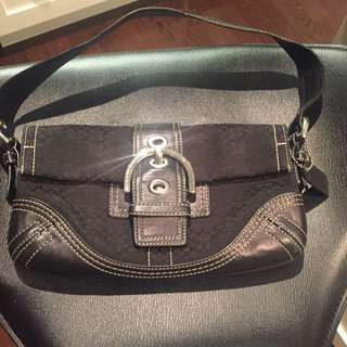Coach Black Purse