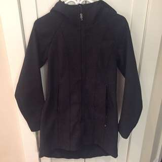 Lululemon Black Fall Coat