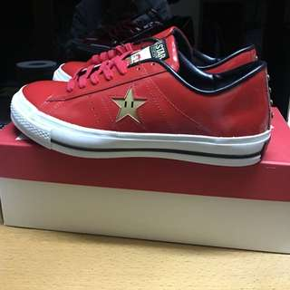 大減價!100%new & Real! Converse One Star OS J Sp Mario Red US 8.5 Made In Japan Slp Saint Laurent Visvim Givenchy Jordan Ultra Boot Prada g Dragon 著
