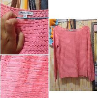 sweater rajut Colorbox