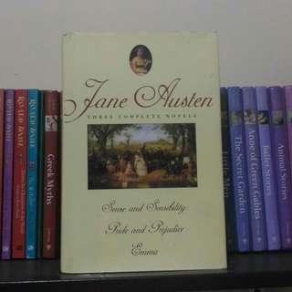 Jane Austen 3 Complete Novels