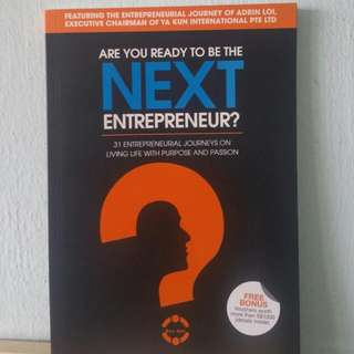 Are You Ready to be the Next Entrepreneur