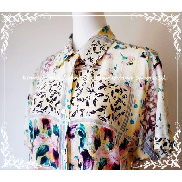 全新!Balla Valentina Italian Style Silk Blouse