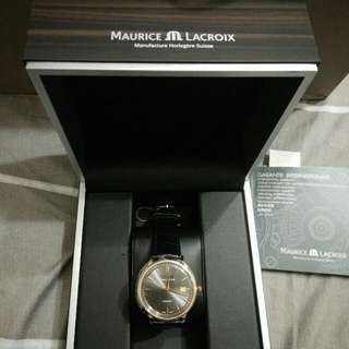 MAURICE LACROIX 艾美lc6037-pg101-330   18k金錶,4折隨便賣