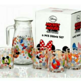 Picther Set Mickey