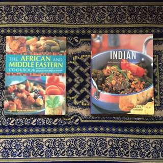 African, Middle Eastern And Indian Cookbooks