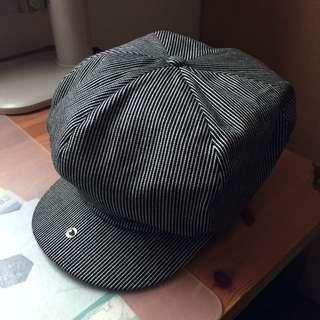 Brixton 報童帽 條紋 全新 S號