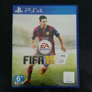 PS4 - FIFA 15 (Negotiable)
