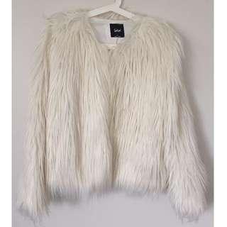 Sportsgirl Faux Fur Jacket