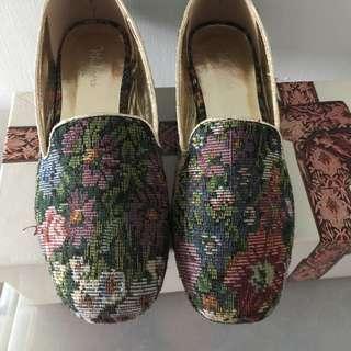 復古平底鞋