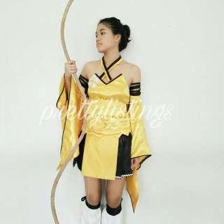 Costume Set Touka kureha Cosplay With FREE BOW!
