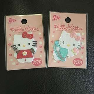 Hello Kitty Japan Iron On Patches