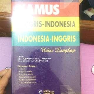 Kamus Inggris Indonesia Indonesia-inggris
