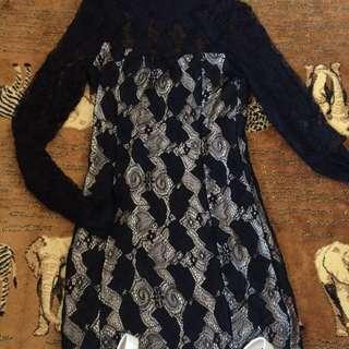 Lace Up Night Dress