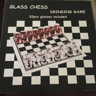 Chess Board Drinking Game