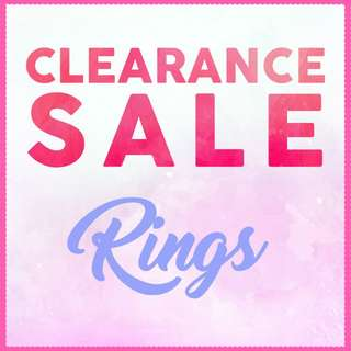 Ring - CLEARANCE SALE