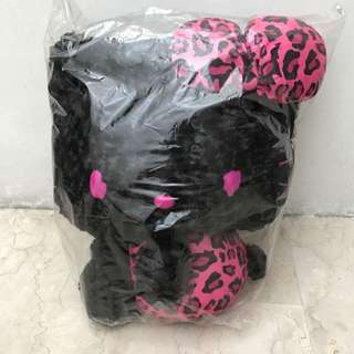 Black Hello Kitty Stuffed Toy