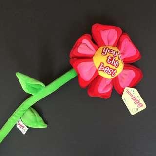 Sunflower Plush Flexible Tieback Toy