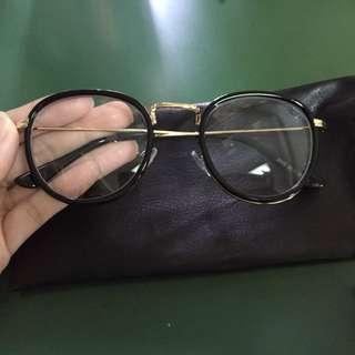 (可議)(免運)黑框眼鏡